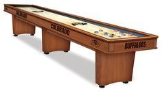 Shuffleboard Table - 9' University of Colorado