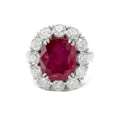 Saffronart Fine Jewels and Silver, AN IMPORTANT RUBY AND DIAMOND RING
