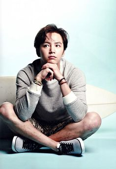 Jang Keun Suk in High Cut Japan Vol. 5