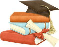 ??? Graduation Clip Art, Graduation Invitations, High School Memories, My High School, University Degree, School Clipart, Clip Art Pictures, Vintage School, Precious Moments