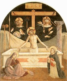 Man of Sorrows by Fra Angelico