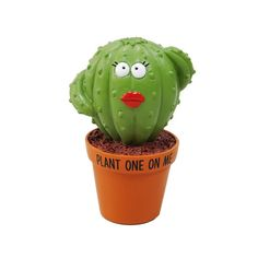 Plant One On Me Cactus Figurine | Our Name is Mud