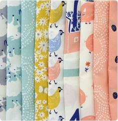 Fabricworm | Modern Fabric for Quilting and Craft Projects  They sell cute organic fabrics!