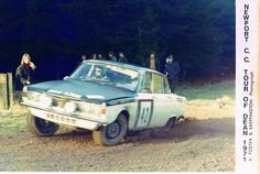 Rover 2000 on 1971 Tour of Dean