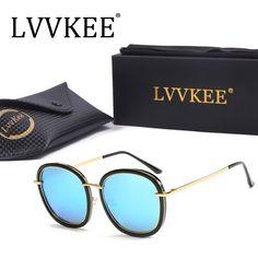 lvvkee superstar Vintage Fashion Oval Mirror Sunglasses Polarized Women Men Polariod Brand Designer Female Oversized Glasses 831