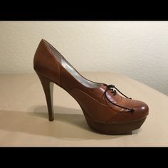 """Selling this Light Brown """"Oxford"""" Heels in my Poshmark closet! My username is: 73honeybees. #shopmycloset #poshmark #fashion #shopping #style #forsale #Jessica Simpson #Shoes"""