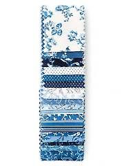 Fabric - Everything Blue Jelly Roll - 20/pkg. - #274527