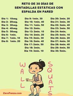 Reto de los 30 días para tener piernas y glúteos definidos | i24mujer