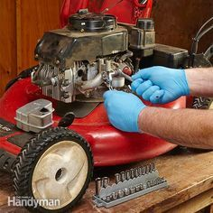 when a small engine won't start, the usual suspects are bad gasoline, a corroded or plugged carburetor, or a bad ignition coil.