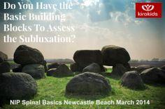 Dr Neil Davies D.C. and Kiro Kids will teach NeuroImpulse Protocol Spinal Basics for chiropractors in Newcastle, Australia March 2014. See http://www.neuroimpulse.net/nip-spinal-basics-newcastle/