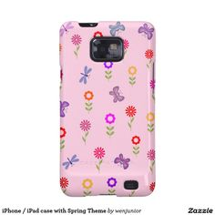 iPhone / iPad case with Spring Theme