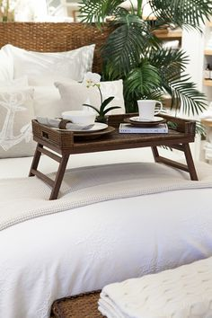 Our new Rattan is perfect for breakfast in bed