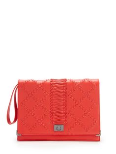 Whip Stitch Wristlet Clutch by Jason Wu at Gilt