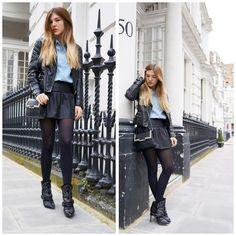 Isabel Marant Boots Blacksons, Zara Leather Jacket