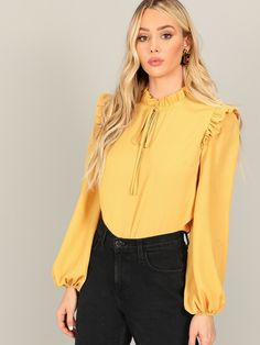Available now harry up For order whatsapp on 01016020647 Our designs are only available in limited pieces, we are here to help you if you need anything just ask :) Blouse Styles, Blouse Designs, Hijab Fashion, Fashion Dresses, Mode Ootd, Plain Tops, Spring Shirts, Bishop Sleeve, Blouse Online