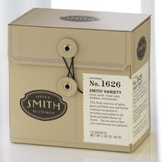 Every variety of tea from Steven Smith Teas sounds wonderful. I think I'd have to start with the variety box.