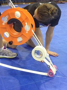 Track Tape contraption of awesome! || Diary of a Derby Bunny