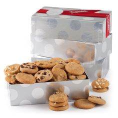 Silver Cookie Gift Box