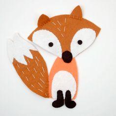 FREE Felt Fox Pattern and Tutorial