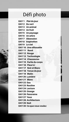 Bilan : Photographe en 30 jours - 30 jours pour réussir Id Photo, Photo A Day, Photo Tips, Photo Book, 30 Days Photo Challenge, June Challenge, Vie Motivation, Positive Attitude, Belle Photo
