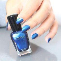 Zoya Nail Polish in Estelle via @Souchka_Nails on Instagram