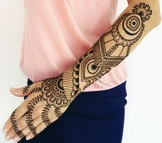 Bridal Mehndi Designs For Full Hands Front And Back | Big Fashion ...