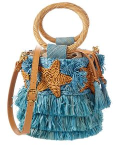 Get the trendiest Cross Body Bag of the season! The Stella Fringe Straw Bucket Blue Cross Body Bag is a top 10 member favorite on Tradesy. Hippie Purse, Ethnic Bag, Blue Cross, Macrame Bag, Boho Bags, Fabric Bags, Summer Bags, Cotton Bag, Knitted Bags