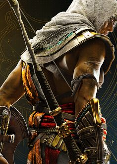 Bayek-Assassin's Creed Origins art,so cool Arte Assassins Creed, Assassins Creed Origins, Assasins Cred, Assassin's Creed Wallpaper, All Assassin's Creed, God Of War, Xbox, Playstation, Nerd