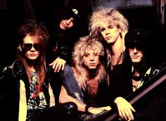 GNR Steven Adler  Axl Rose  Slash  Duff McKagan  Izzy Stradlin