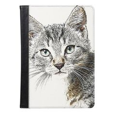 sketchy cat iPad air case - drawing sketch design graphic draw personalize