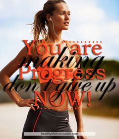 With every single workout, you get stronger, healthier, and better!  Why would you quit now?