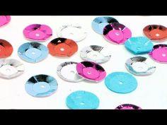DIY Paper Sequins {no fancy dies needed!} - YouTube