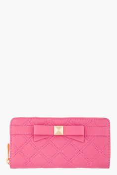 MARC JACOBS Pink Lindy Deluxe Wallet from #SSENSE