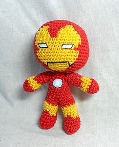 1000+ images about super heroes on Pinterest Amigurumi ...