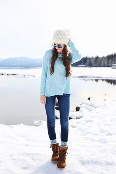 A fabulous 'on-the-go' winter outfit!