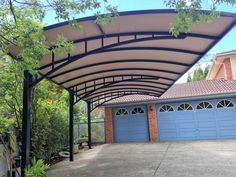 Cantilever Structures by Pioneer Shade Structures. Customised Pergola Solutions for your home or business. Carport Canopy, Pergola Carport, Steel Pergola, Patio Canopy, Canopy Outdoor, Pergola Shade, Car Canopy, Cheap Pergola, Pergola Kits