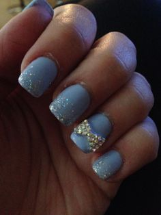 Cinderella nails :)