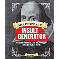Check This Out At Amazon Shakespeare Insult Generator Shakespeare Insults Insult Generator