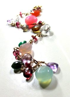 Spring is Here Gemstones and 14k Gold Filled  Artisan by dbsj