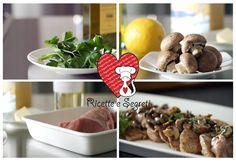 Ricette e Segreti in Cucina : Scaloppine di maiale con funghi