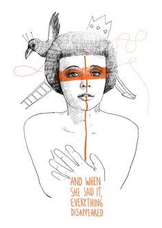 Myokard by Dana Es, via Behance