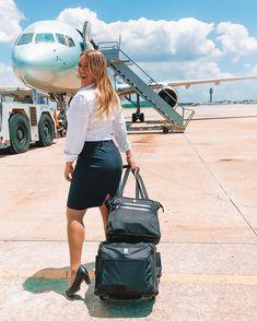 Last Minute Cheap Airline Ticket Airline Travel, Airline Tickets, Delta Flight Attendant, 50 States Of Usa, Flight Girls, Cool Tights, Tight Tank Top, Girls Uniforms, Virgin Atlantic