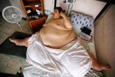 Manuel Uribe The world fattest man 1,316 lb weight is dead