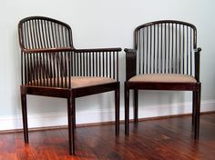 Davis Allen Exquisite Pair of Andover Occasional by contentshome #chairs #vintage #interiordesign