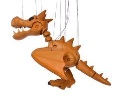 Dragon 3d printed marionette Dragon, 3d, Printed, Holiday Decor, Dragons