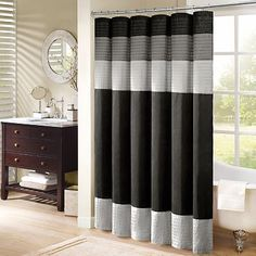 ...  Shower Curtains, Black Shower Curtains and Striped Shower Curtains