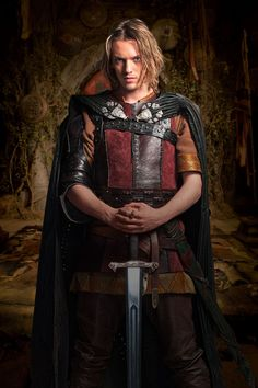 King Arthur - from the series 'Camelot' on Starz   cancelled after one season ... sad
