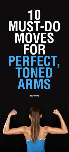 Tone Arms Workout, Biceps Workout, Toning Workouts, Arm Toning, Workout Kettlebell, Beginner Workouts, Skinny Ms, Toned Arms, Tone Arms Fast