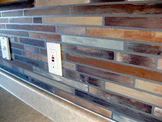 Painted Faux Tile Backsplash Tutorial!! | Sawdust and Embryos