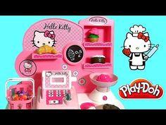 Hello Kitty Bakery Shop with Cash Register Pastelería Pasticceria Pâtisserie Panadería булочная - YouTube